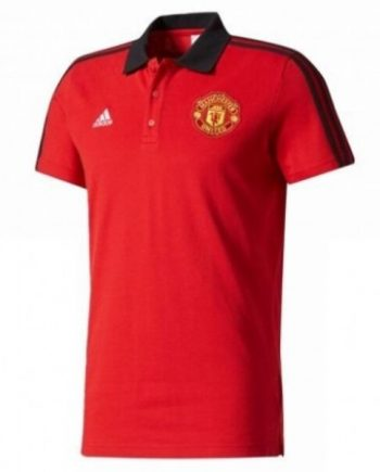 Manchester United Pre-Match Polo-Red