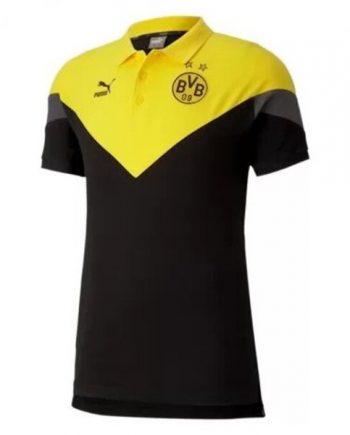 Puma Dortmund Polo Black