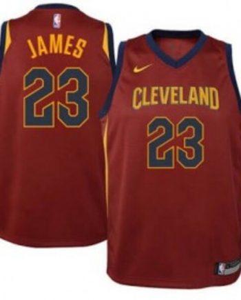 cleveland Cavaliers Basketball Jersey-Wine
