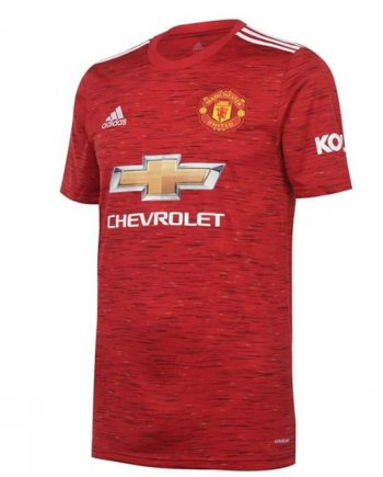 Manchester United 2021 Home Jersey
