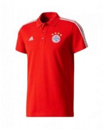 Bayern Munich Pre-Match Polo-Red