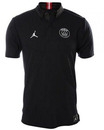 PSG Jordan Polo Shirt | Black