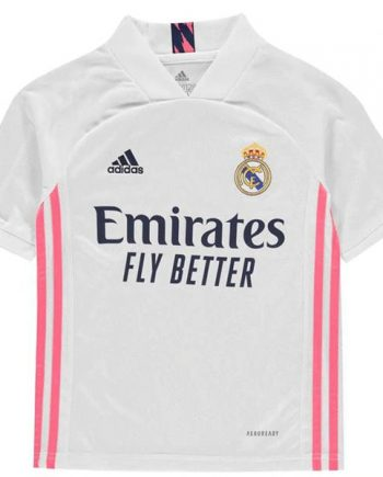 Kids Real Madrid Home Jersey 2021