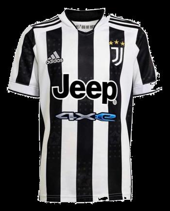 adidas Juventus Home Shirt 2021 2022 Kids